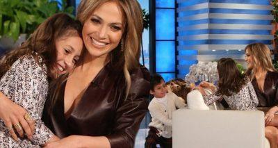 Jennifer Lopez Brings Her Twins to Ellen!