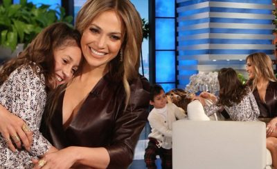 Jennifer Lopez Brings Her Twins to Ellen!