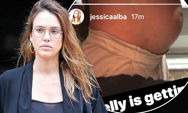 Jessica Alba Says Third Baby Will Be Her LAST! image