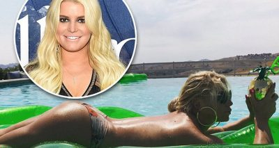 KISS MY BUTT: Jessica Simpson Shows Off Body in NUDE Photo