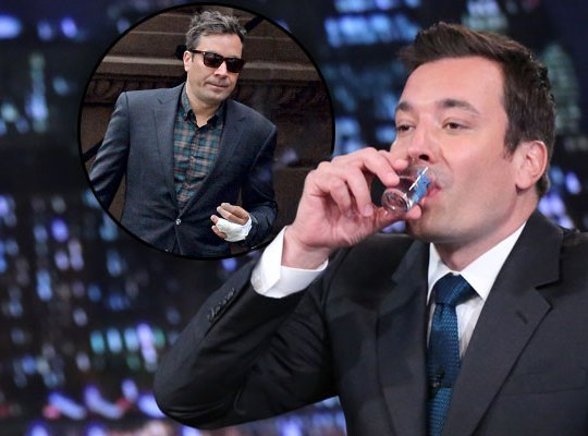 "Jimmy Fallon Got ""Very Drunk"" at a Punk Bar Then Danced to '90s Music From His Phone All Night Long! image"