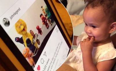 John Legend's Daughter Cannot BELIEVE That He Was on 'Sesame Street!'