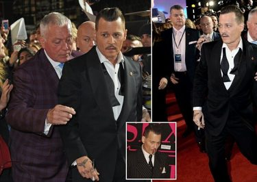 Johnny Depp Was DRUNK at at Movie Premiere