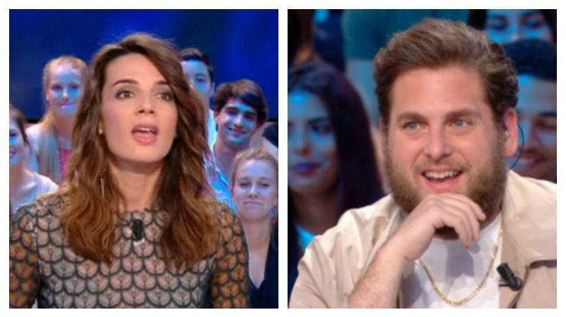 """Jonah Hill Ridiculed on French TV By """"Local Weather Girl""""! image"""