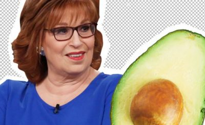 Joy Behar Gets Committed After Stabbing Herself While Trying to Eat an AVOCADO!
