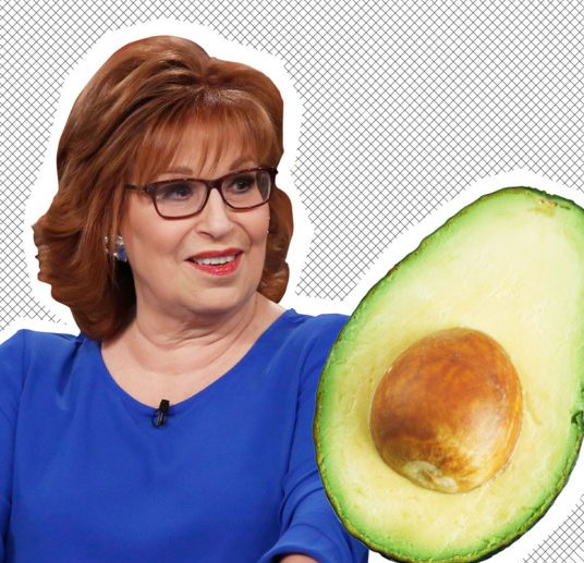 Joy Behar Gets Committed After Stabbing Herself While Trying to Eat an AVOCADO! image