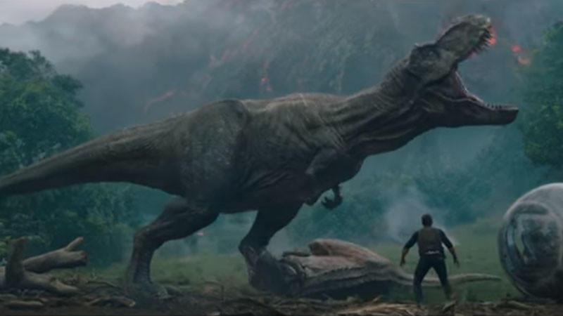 Full Trailer For 'Jurassic World: FALLEN KINGDOM' image
