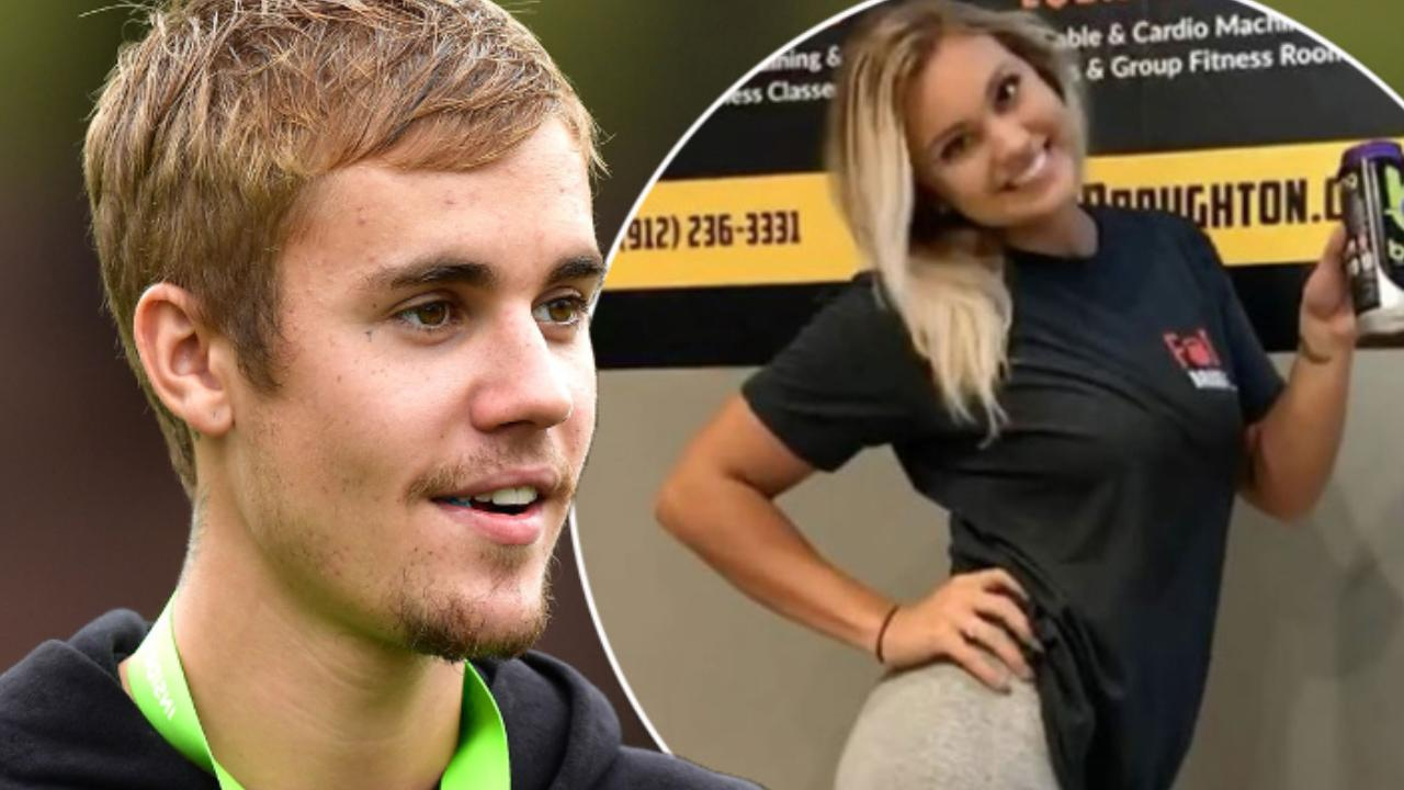 Justin Bieber Asks Gym Girl Shaking Her Hips Out, Finds Out She's TAKEN! image