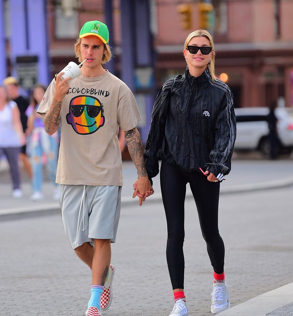 Justin Bieber and Hailey Baldwin Go on a DONUT Date! image
