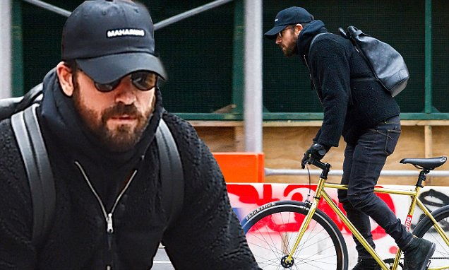 Justin Theroux RIDES AWAY From Jennifer Aniston Relationship image