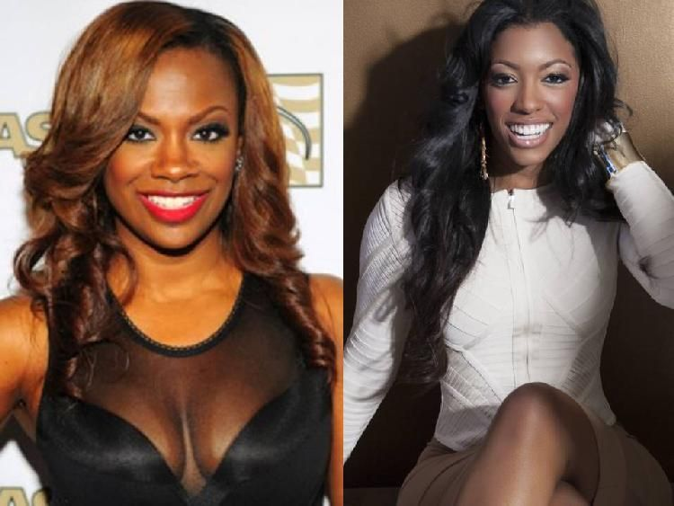 UNDERCOVER LESBIAN?! Kandi Burruss Won't Stand For Porsha Williams' Lies About Her Sexuality! image