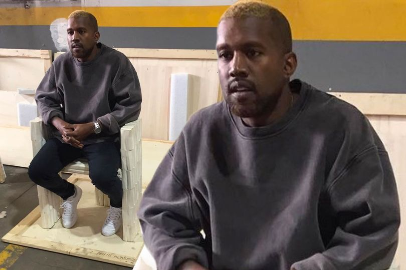LOOKING GOOD??? Kanye West EMERGES After Psychiatric Hospitalization With Blonde Hair! image