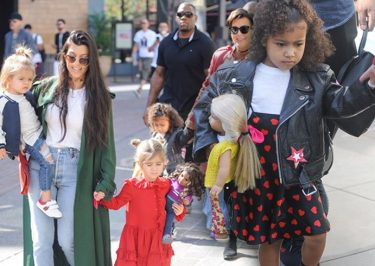 Kardashian Klan Babysits Sad North West While Kim Monitors Kanye