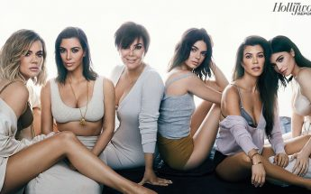 Kardashians in NUDE Cover 'The HOLLYWOOD Reporter'