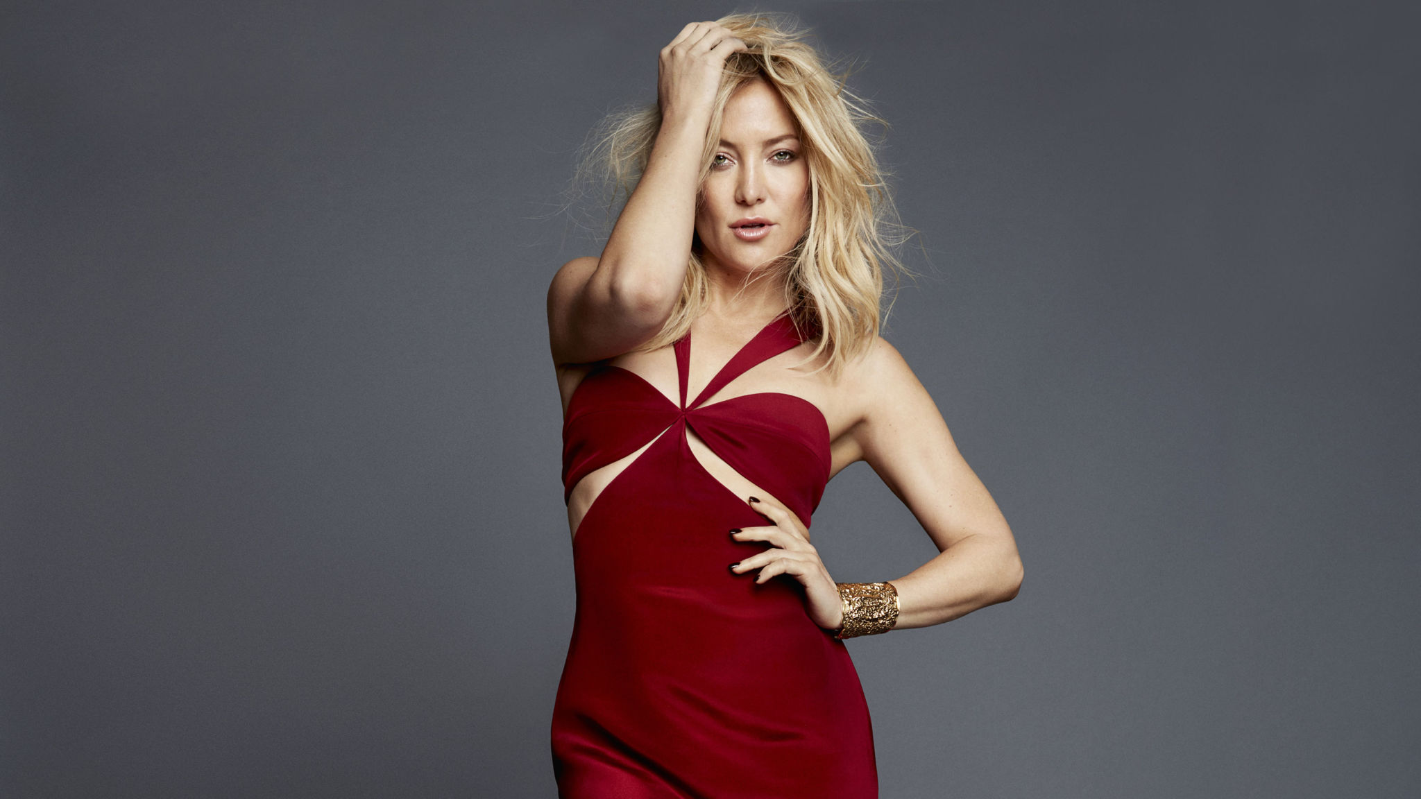 Kate Hudson: Lady in Red on Marie Claire Cover, Explains That Forgiveness Is Necessary @ the End of a Relationship
