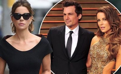 BRAVING THE STORM: Kate Beckinsale Steps Out in the Rain as Her Husband Files for DIVORCE