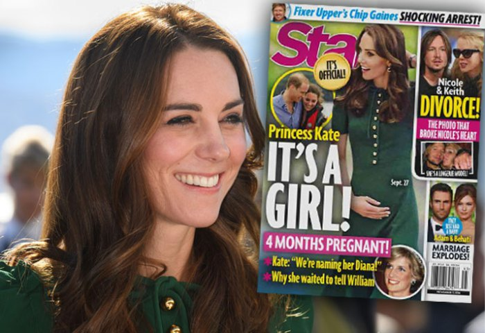 PALACE EXCLUSIVE: Kate Middleton is PREGNANT and It's a GIRL! image