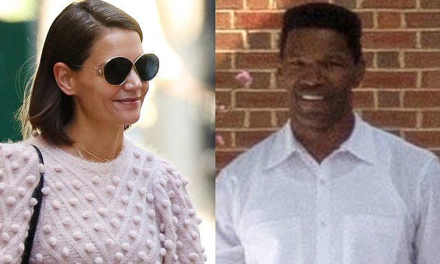 Katie Holmes and Jamie FOXX Put in a Workout in ATLANTA! image