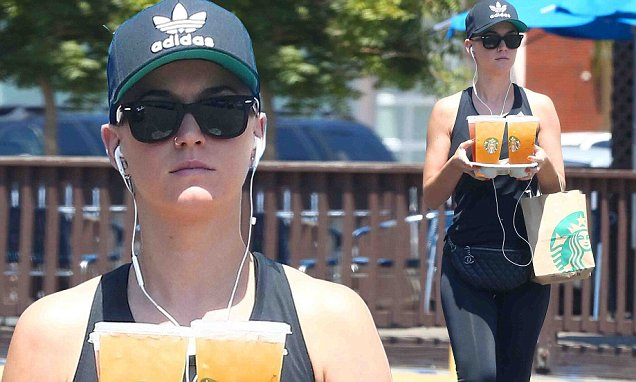 Katy Perry Owns Up to Starbucks ADDICTION