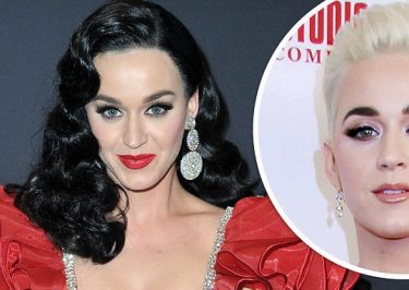 Katy Perry Wears a Black WIG To 'American Idol' Taping
