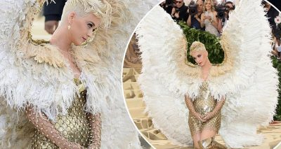 'Dark Angel' Katy Perry ALMOST MISSED The Met Gala!