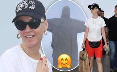 Katy Perry Seen in PERU For WITNESS Tour