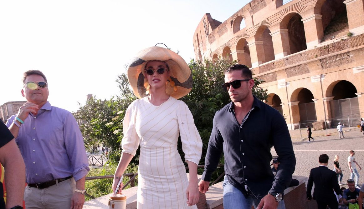 Katy Perry Gets LOST Inside the Roman Colosseum image