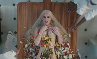 Katy Perry Gets COOKED NAKED in 'Bon Appetit' Music Video