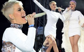 Katy Perry 'ROAR' and 'Part of Me' at 'One Love Manchester' Concert