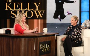 Kelly Clarkson Gets a Talk Show! Interviews ELLEN on 'The Kelly Show'