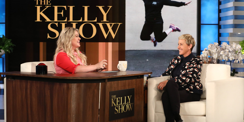 Kelly Clarkson Gets a Talk Show! Interviews ELLEN on 'The Kelly Show' image