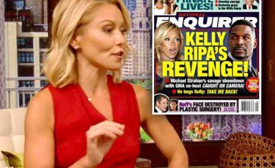 Kelly Ripa Planning REVENGE On Miserable Michael Strahan