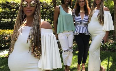 Kelly Rowland and Beyoncé Celebrate Easter Together…Where you at Michelle? LOL