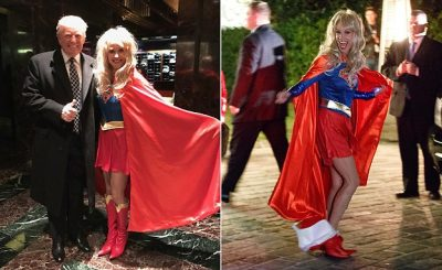 SUPERWOMAN: Trump Campaign Manager Kellyanne Conway Dresses Up at 'HEROES & VILLAINS' Party