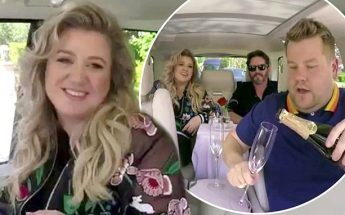 Kelly Clarkson Belts HITS on James Corden's 'Carpool Karaoke!'