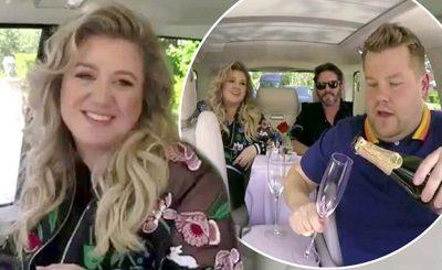 Kelly Clarkson Belts HITS on James Corden's 'Carpool Karaoke!'