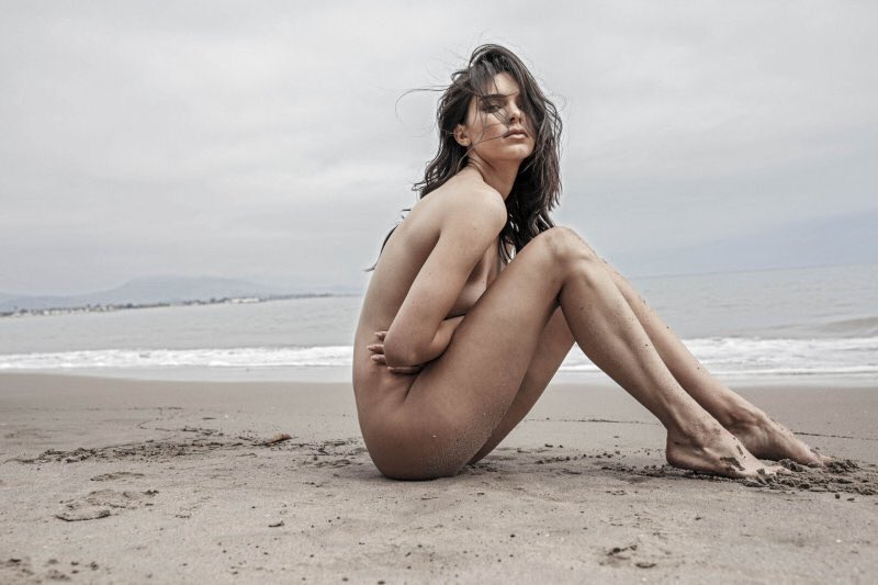 Kendall Jenner Goes NUDE For Russell James Photo Book