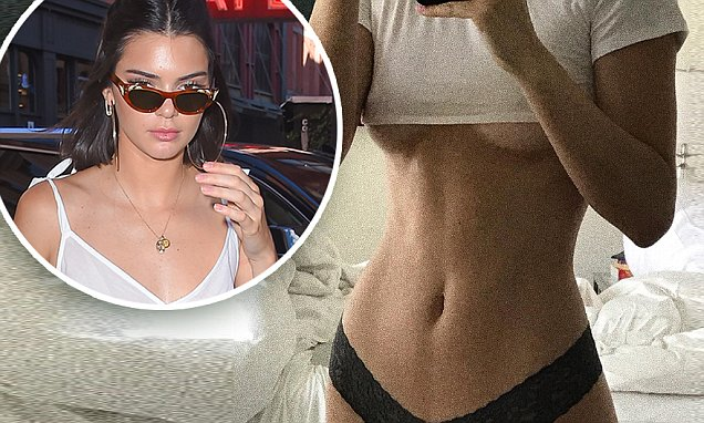 Kendall Jenner Shows Off HOURGLASS Figure in New Photo image
