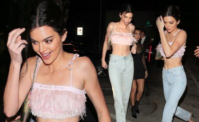 KENDALL JENNER and Kourtney Kardashian's Chic Night Out!