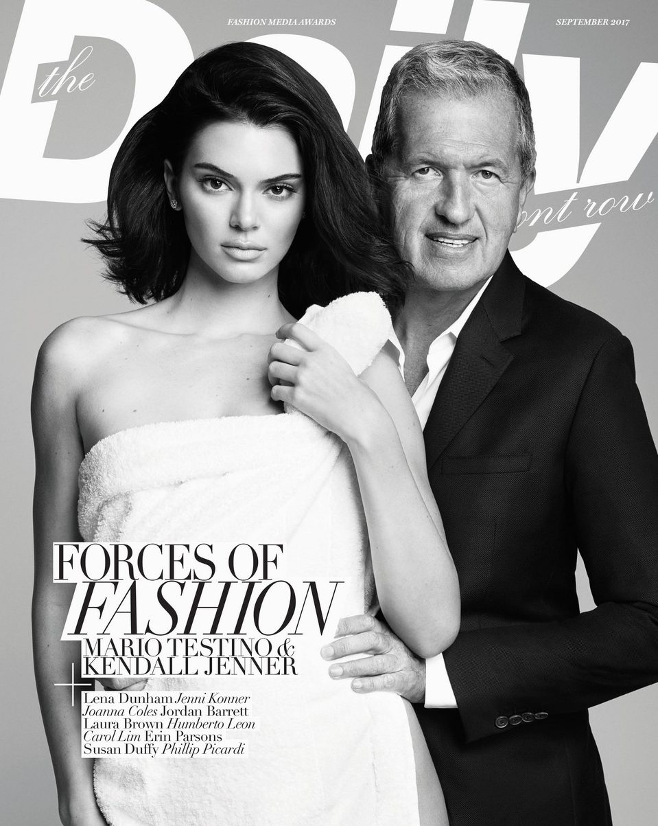 Kendall Jenner is an 'ICON of the Decade' on 'DAILY Front Row' Cover image