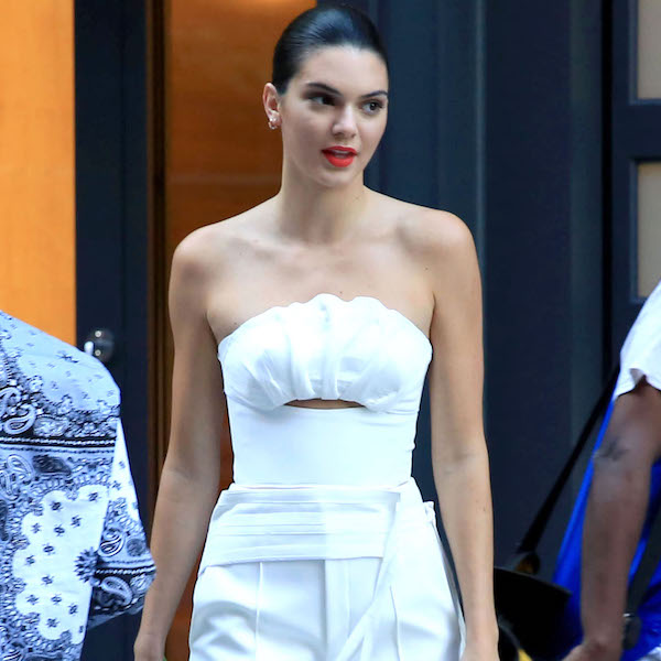 Kendall Jenner Woman in White After Labor Day!