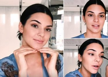 KENDALL JENNER Shares Morning Makeup Routine
