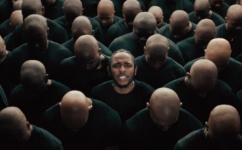 Kendrick Lamar Sets His Hair on FIRE In New 'Humble' Music Video