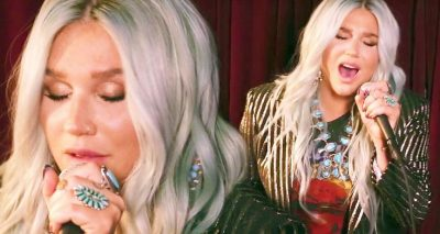 Kesha Performs Acoustic 'House of the Rising SUN'