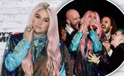 Kesha – 'Learn to Let Go' at MTV EMAs 2017