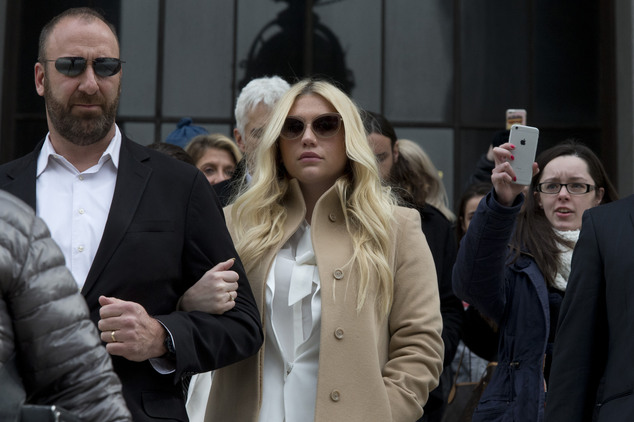 "Kesha's Bold New Statement in Brooklyn: ""Dr. Luke F***ed With the Wrong Woman!"" image"