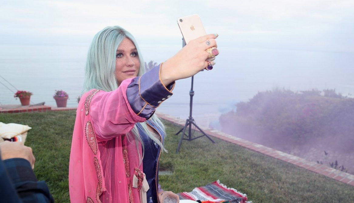 KESHA Hosts 'Rainbow' Listening Party by the WATER! image