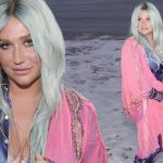 Kesha 'Learn to Let Go' Music Video image