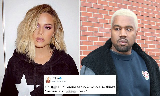 KHLOE Kardashian Says Geminis ARE CRAZY! Listens to Taylor Swift, Shades Kanye West! image