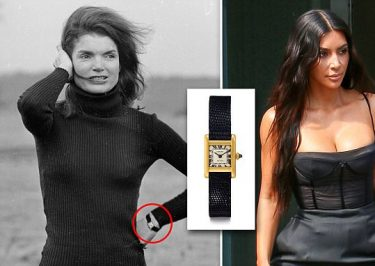 Kim Kardashian Buys Jackie Kennedy's Famous CARTIER Watch!